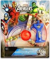 Marvel Turbocopter Avengers 25 Cm Blauw