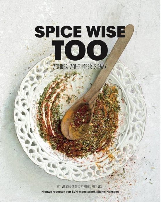 Boek cover Spice Wise Too van Michel Hanssen (Hardcover)