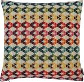 The Cushion Shop Rainbow Diamond - Sierkussen - 44x44 cm