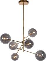 Lucide ALARA Hanglamp - Ø 72 cm - LED - G4 - 6x1,5W 2700K - Goud