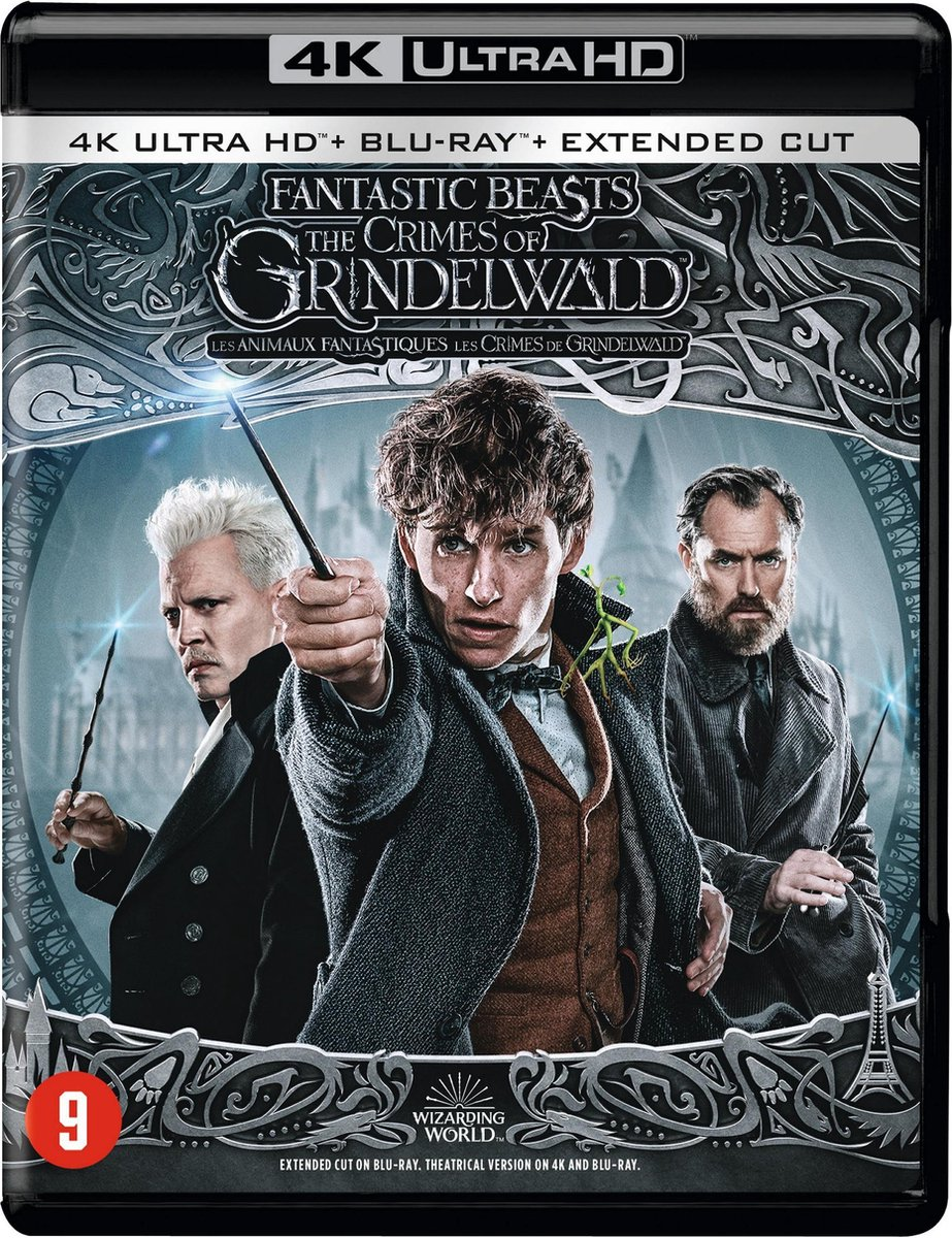 Fantastic Beasts: The Crimes of Grindelwald (Extended Cut) (4K Ultra HD Blu-ray)-