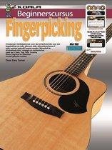 Boek cover Beginnerscursus Fingerpicking Gitaar - Boek + Online Video & Audio van Gary Turner (Onbekend)