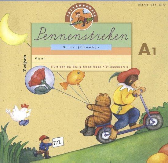 P.S. SCHRIJFBK A1 LETTER (5V) - Maria van Gils |