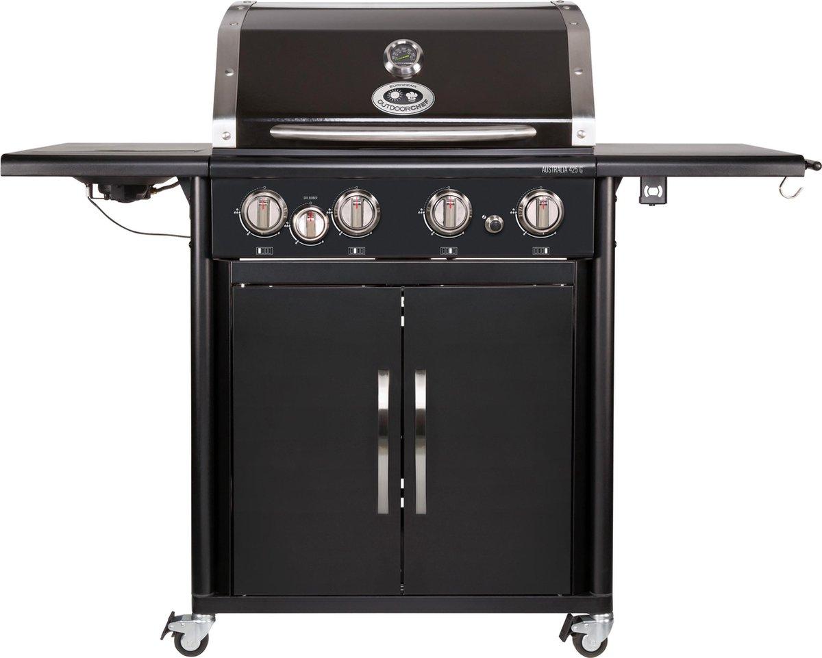 Outdoorchef Australia 425 G Gasbarbecue - 5 branders - Zwart