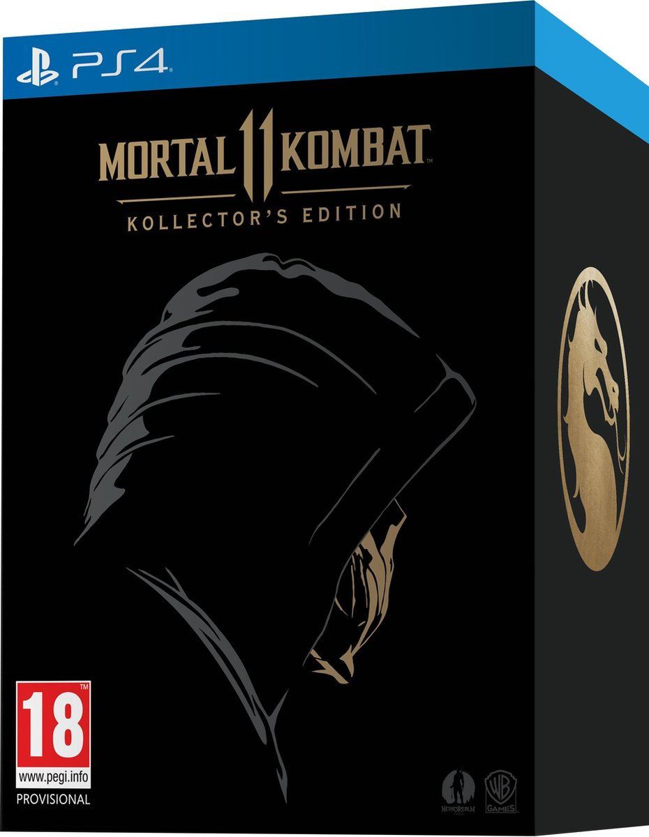 Mortal Kombat 11 Kollector S Edition Ps4 Games Bol Com