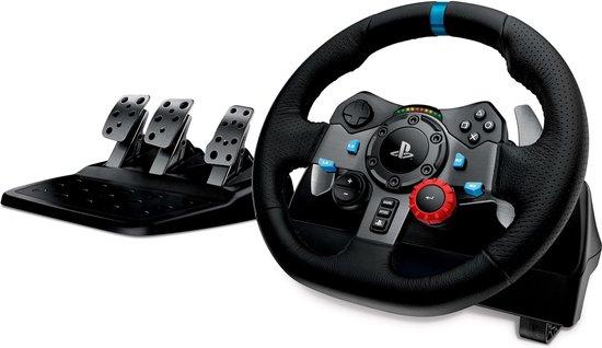 Logitech G29 Driving Force Racestuur + pedalen - Playstation & PC