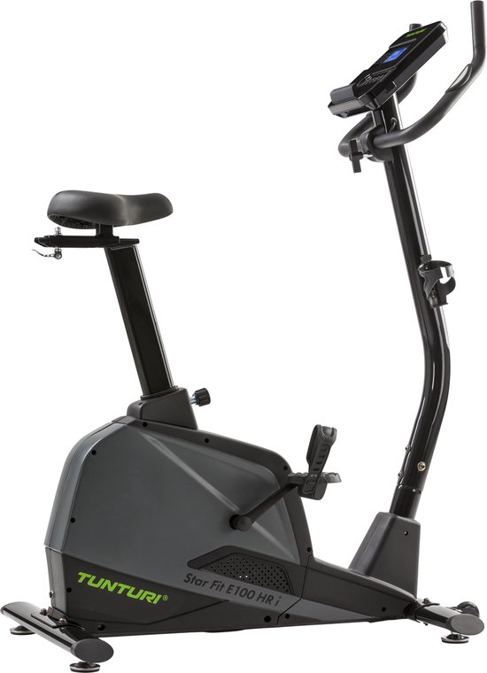 Tunturi Star Fit E100 HR i plus - Hometrainer - Ergometer - Fitness Fiets