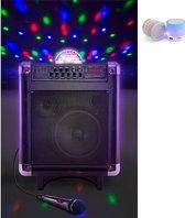 Alecto MPA-65 Bluetooth draagbare Karaoke Set + Gratis Beatbox Bluetooth Speaker !