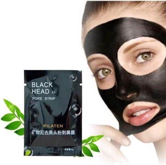 Pilaten blackhead masker - Eenvoudig mee-eters verwijderen - 5 stuks - Zwart