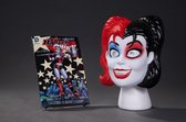 Harley Quinn Book & Mask Set: Hot in the City