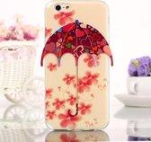 iPhone 6(S) (4.7 inch) 3D Paraplu TPU case cover hoesje