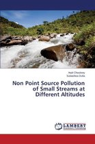 Non Point Source Pollution of Small Streams at Different Altitudes