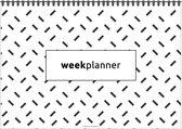 Afbeelding van Weekplanner - De planner voor de hele week! - Minimalistisch - Zwart/Wit