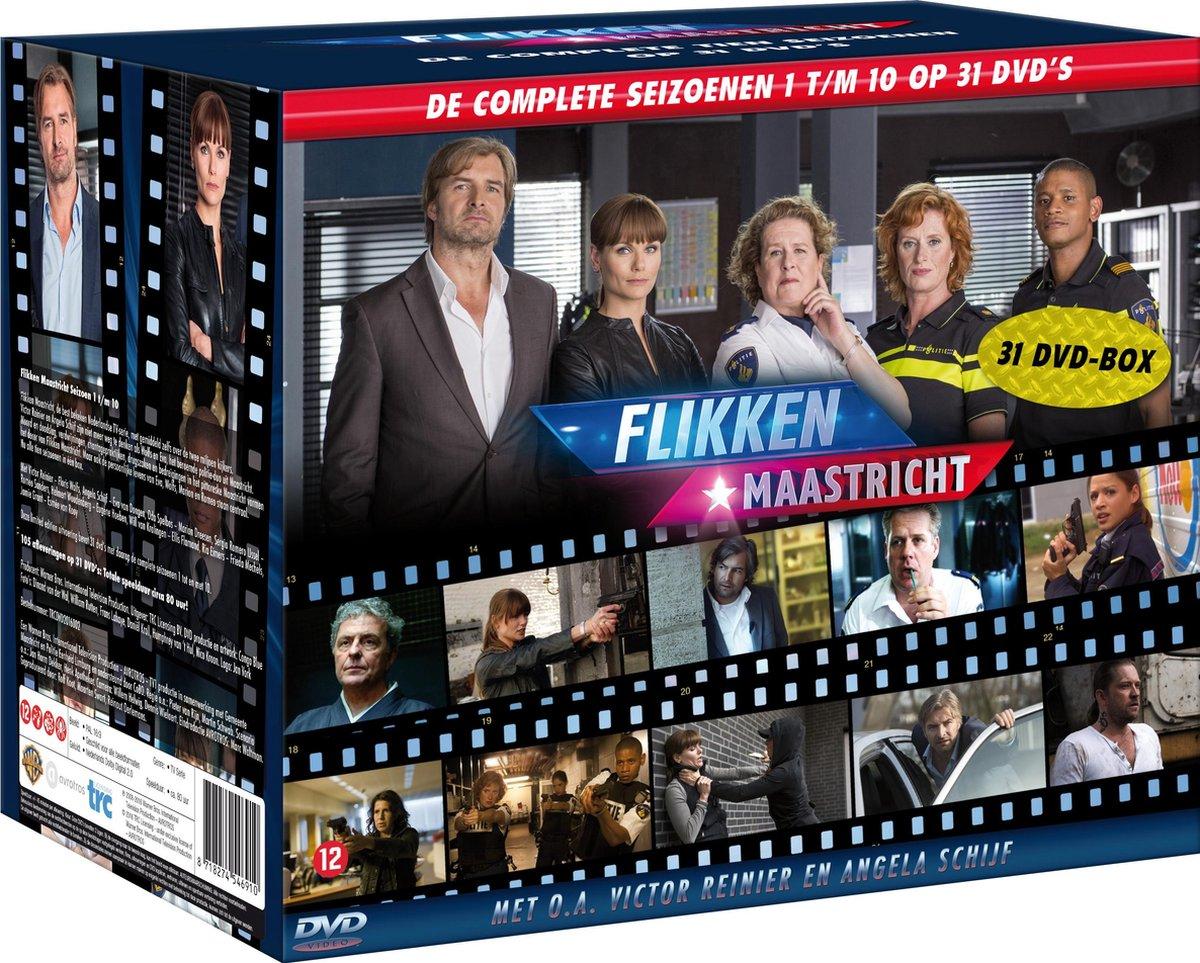 Flikken Maastricht - Seizoen 1 t/m 10 - Tv Series