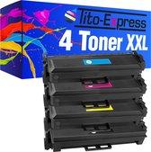 """PlatinumSerie® 4 x toner XXL alternatief voor HP CF410X CF411X CF412X CF413X XX 6.500 Pagina""""s black 5.000 pagina's color"""