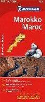 Michelin Nationalkarte Marokko 1 : 1.000 000