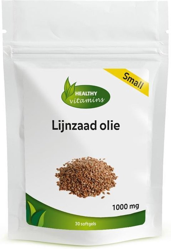Lijnzaadolie SMALL - 30 softgels