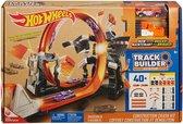 Afbeelding van Hot Wheels Track Builder Bouw & Crash Set - Racebaan