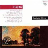 Haydn: Late String Quartets OP 77 no 1 & 2 / Alcan