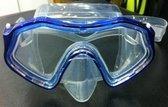 Duikmasker SMART Blauw Transparant Silicone Shallow