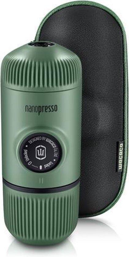 Wacaco Nanopresso Moss Green - portable espresso machine