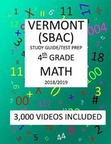 4th Grade VERMONT SBAC, 2019 MATH, Test Prep
