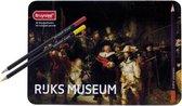 Bruynzeel Hollandse Meesters blik 50 kleurpotloden - De Nachtwacht van Rembrandt