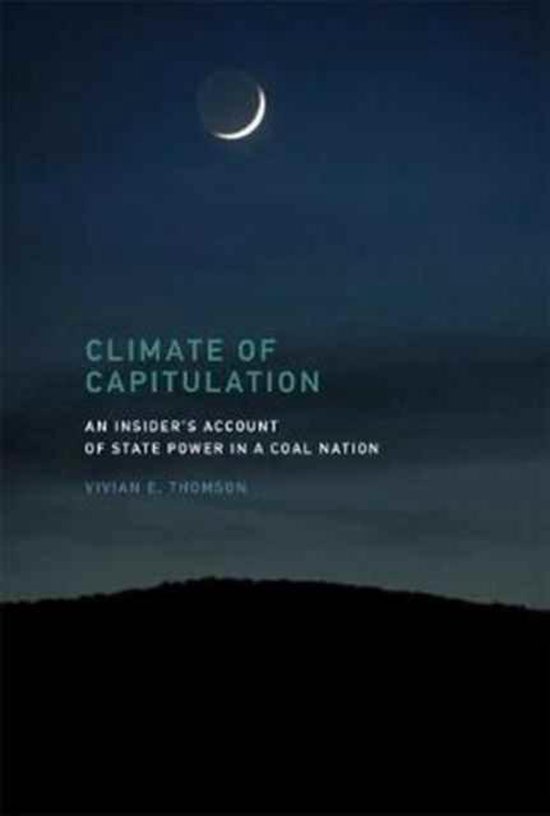 Boek cover Climate of Capitulation van Vivian E. Thomson (Hardcover)