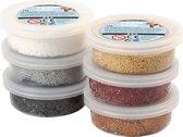 Foam Clay set met 6 Metallic Kleuren - klei