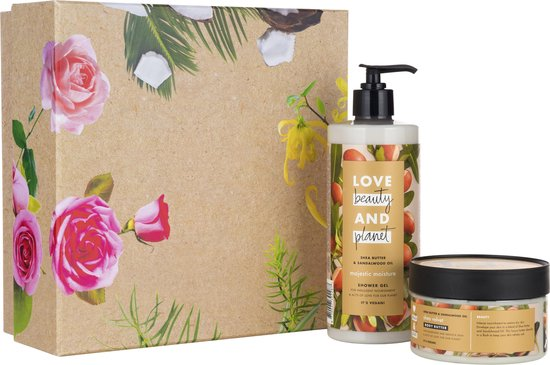 Love Beauty and Planet Shea Butter & Sandelwood - Luxe Geschenkset