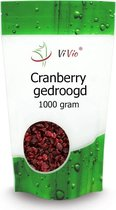 Cranberry gedroogd 1000g