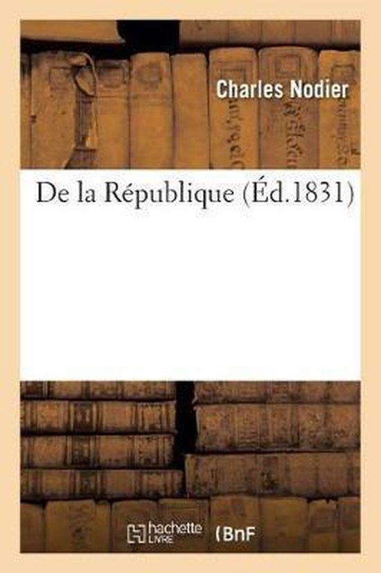 De la Republique