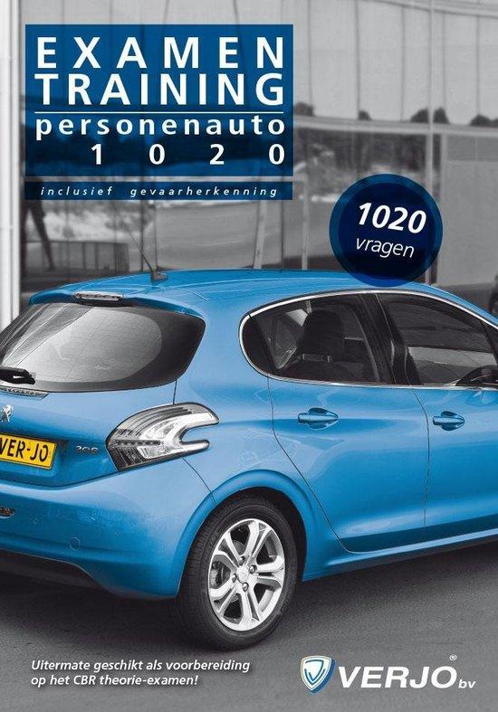 1020 vragen personenauto Examentraining - 19e druk - maart 2015 - Verjo redactie groep |