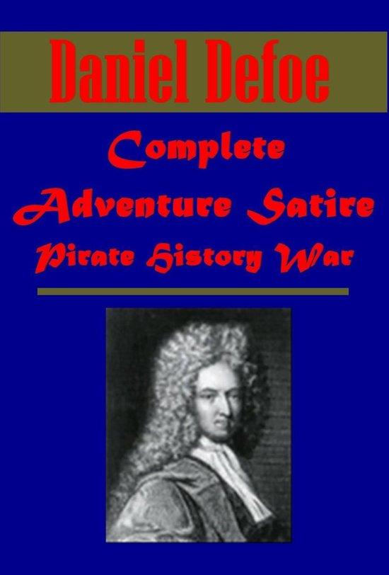 Complete Adventure Satire Pirate History War