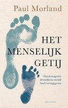Boek cover Het menselijk getij van Paul Morland