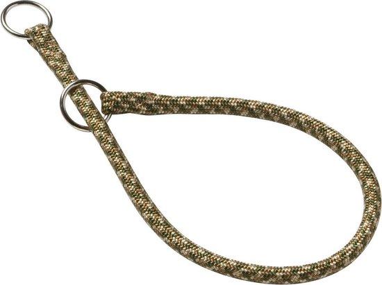 Adori Halsband Nylon Rond Groen&Beige 45x0.8 cm