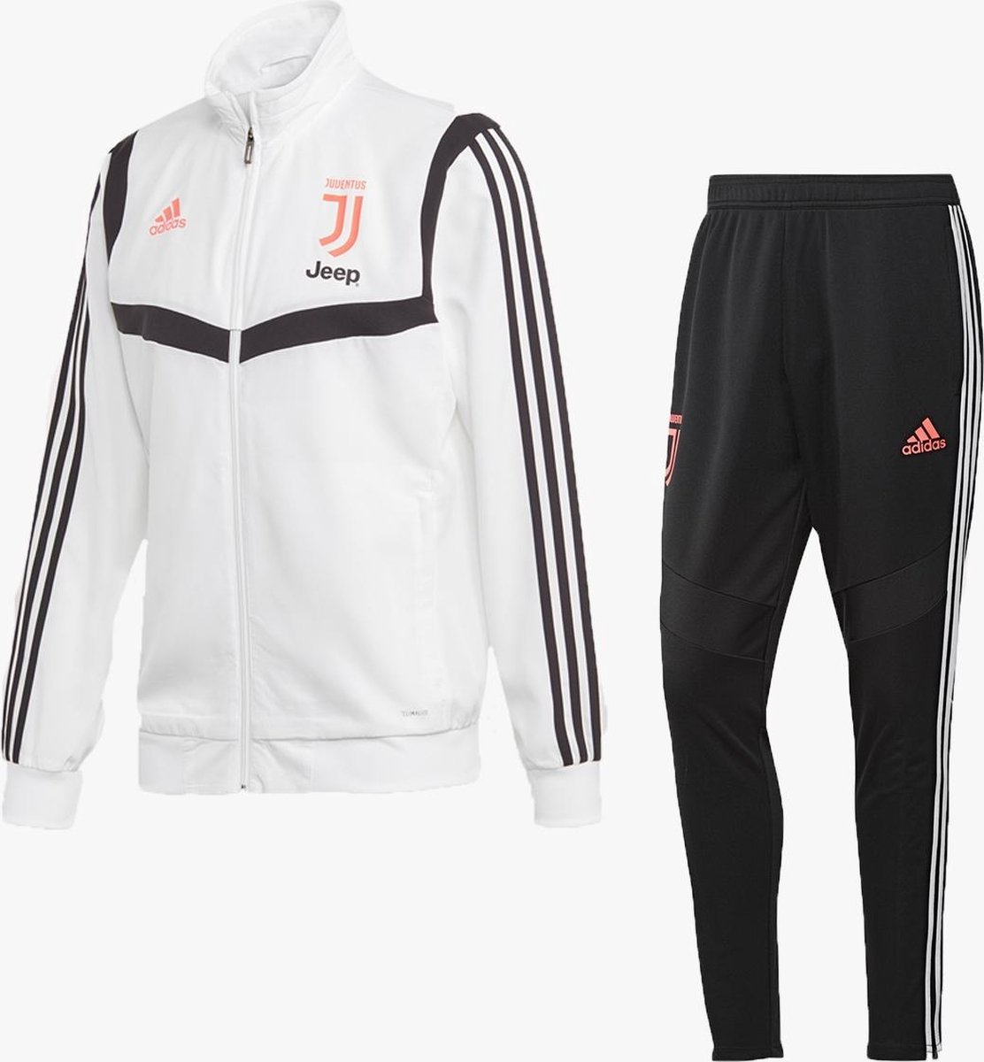 13++ Juventus Trainingspak 2021 Roze