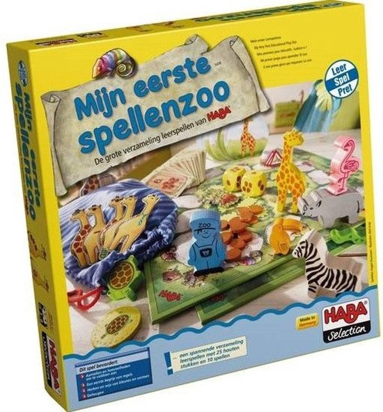 Afbeelding van het spel Haba Kinderspel Mijn Eerste Spellenzoo (nl)