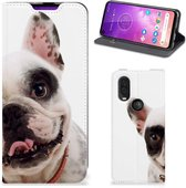 Motorola One Vision Hoesje maken Franse Bulldog