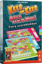 Keer op Keer Scoreblok 3 stuks Level 5, 6 en 7 Dobbelspel