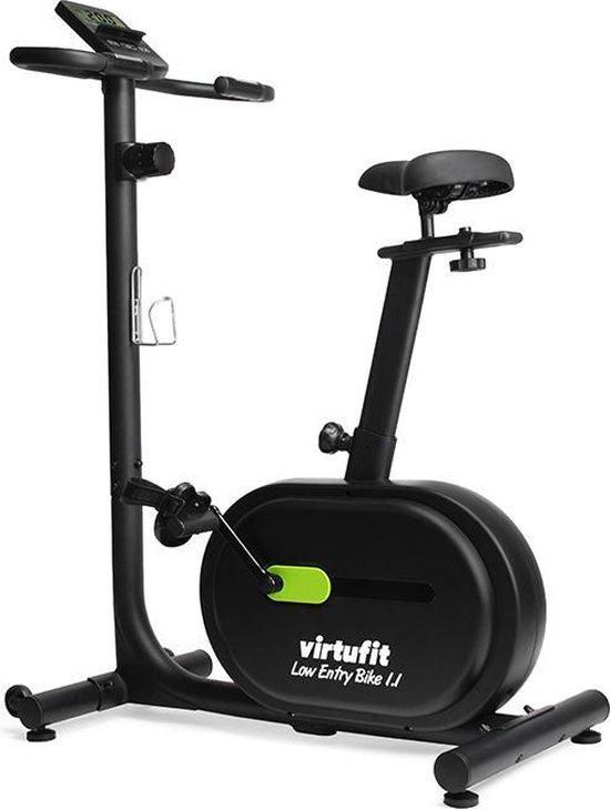 Hometrainer - VirtuFit Low Entry Bike 1.1 - Fitness Fiets - Home Trainer - Zwart