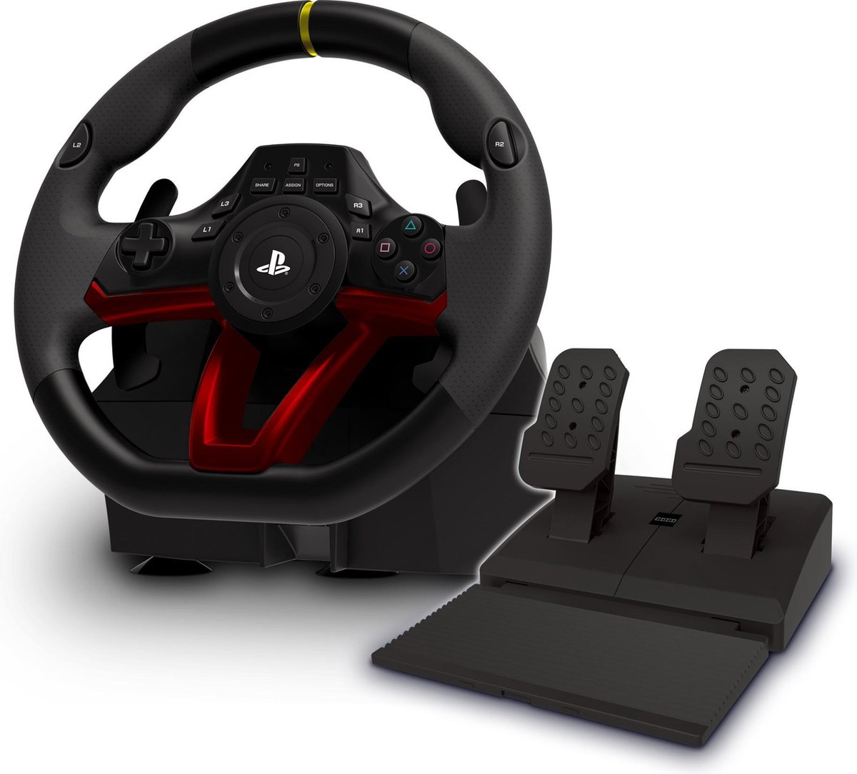 Hori Apex Draadloos Racestuur - Official Licensed - PS4 + PC