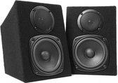 Dynavox DJ monitor luidspreker set 2 x 120 watt
