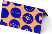 bol.com cadeaukaart - 15 euro - Bedankt!