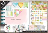 Me and My Big Idea's - Happy Planner Classic - Stay Happy - box kit