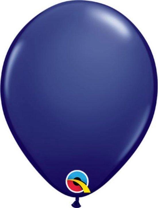 Ballonnen Navy Blue 30 cm 25 stuks