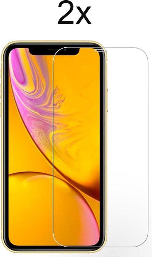 Screenprotector iPhone 11 - Beschermglas iPhone XR Screenprotector Glas - iPhone 11 Screen Protector - 2 stuks