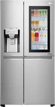 LG INSTAVIEW Door-in-Door GSX960NSVZ - Amerikaanse koelkast - Zilver