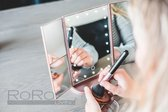 RoRo Living® - Stijlvolle make-up spiegel met LED verlichting