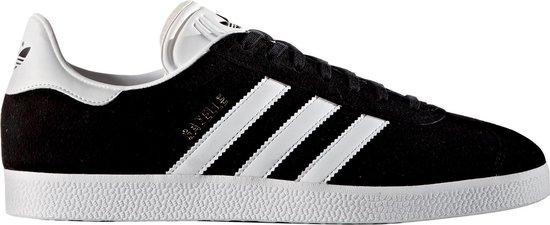 adidas Gazelle Heren Sneakers - Core Black/Footwear White/Clear Granite - Maat 43 1/3 - adidas